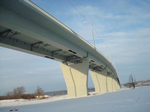 Мост через реку Вятку в Кировской области