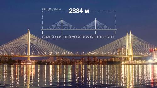 Большой Обуховский мост — вантовый неразводной мост через Неву